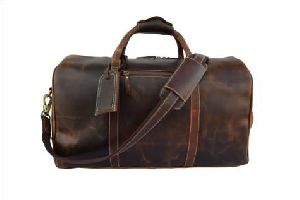 Hunter Leather Duffle Bags