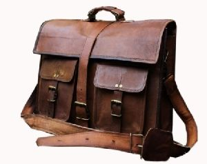 PH002 Leather Messenger Bag