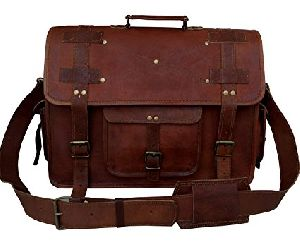 PH007 Leather Laptop Bag