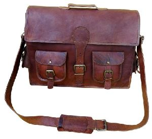 PH015 Leather Laptop Bag