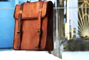PH021 Leather Laptop Bag