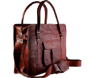 PH025 Leather Messenger Bag