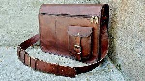 PH030 Leather Laptop Bag