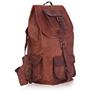 PH039 Genuine Leather Backpack