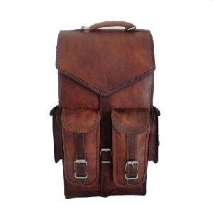 PH042 Vintage Leather Backpack