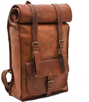 PH043 Vintage Leather Backpack