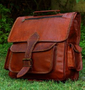PH044 Vintage Leather Backpack