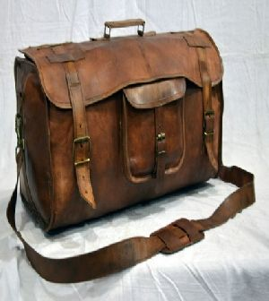 PH053 Leather Duffle Bags