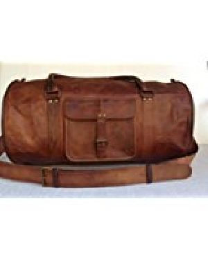 PH054 Leather Duffle Bags