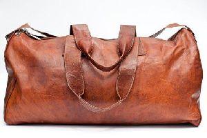 PH063 Vintage Leather Duffle Bag