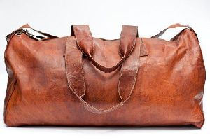 PH064 Vintage Leather Duffle Bag