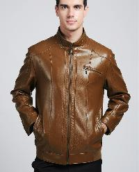 Mens Washed Leather Jackets
