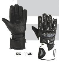 KIC - 1145 Mens Leather Motorcycle Glove
