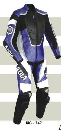 KIC - 747 Mens Leather Motorcycle Suit