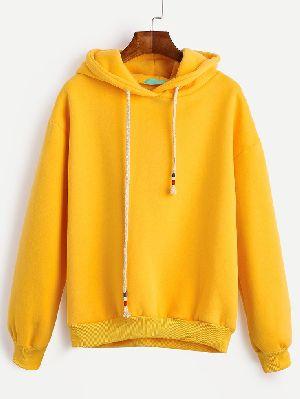 Mens Yellow Hoodie