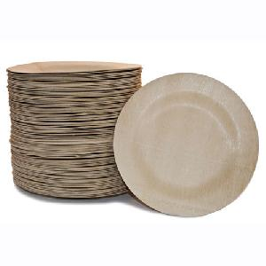 Disposable Biodegradable Paper Plates