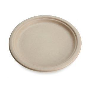 Disposable Natural Paper Plates