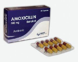 Amoxicillin 500mg Capsules