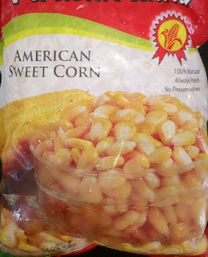 fresh american sweet corn