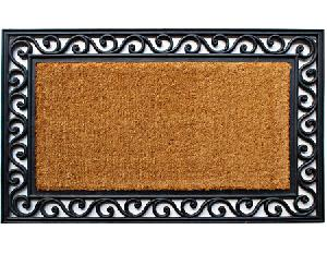 Brushed Rubberised Coir Mat (LE-83630)