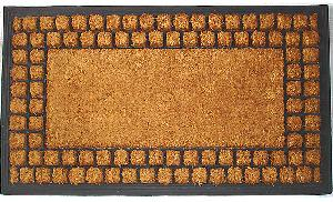 Brushed Rubberised Coir Mat (LE-86049)