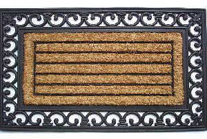 Brushed Rubberised Coir Mat (LE-86244)