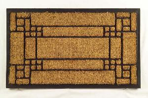 Rubber Moulded Coir Brush Door Mat 02