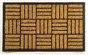 Rubber Moulded Coir Brush Door Mat 04