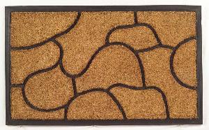 Rubber Moulded Coir Brush Door Mat 05