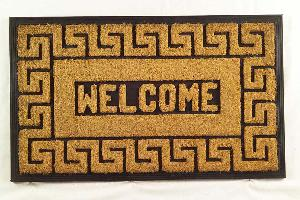 Rubber Moulded Coir Brush Door Mat 06