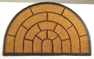 Rubber Moulded Coir Brush Door Mat 08