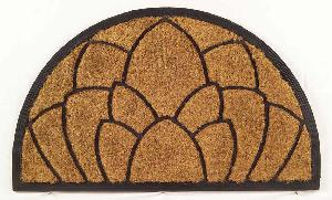 Rubber Moulded Coir Brush Door Mat 11
