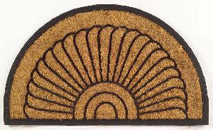 Rubber Moulded Coir Brush Door Mat 12