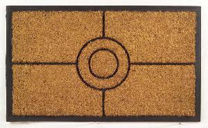 Rubber Moulded Coir Brush Door Mat 13