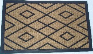 Rubber Moulded Coir Panama Door Mat 01