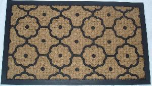 Rubber Moulded Coir Panama Door Mat 02