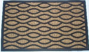 Rubber Moulded Coir Panama Door Mat 03