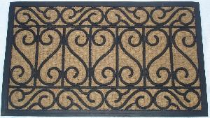 Rubber Moulded Coir Panama Door Mat 04