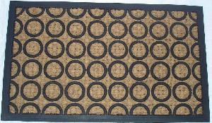 Rubber Moulded Coir Panama Door Mat 05