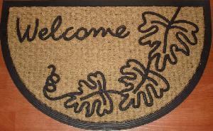 Rubber Moulded Coir Panama Door Mat 06