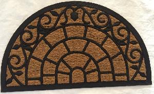 Rubber Moulded Coir Panama Door Mat 07