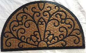 Rubber Moulded Coir Panama Door Mat 08