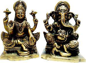 Brass God Statue 05