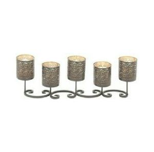 Iron Candle Holder 02