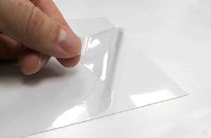 PVC Self Adhesive Transparent Film 02