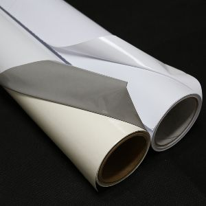 PVC Self Adhesive White Vinyl  Roll 01