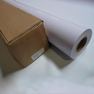 PVC Self Adhesive White Vinyl Roll 02