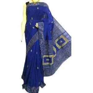 Dark Blue Handloom Sarees