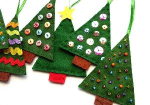 Felted Christmas Tree