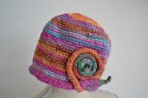 Woolen Snail Cap